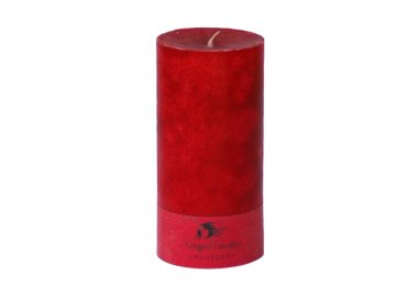Cranberry 3x6 Pillar Candle