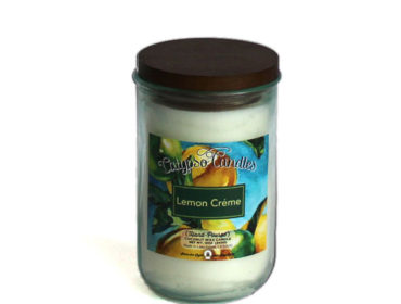 Lemon Creme Coconut Wax Candle