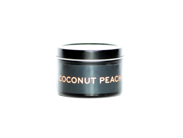 Coconut Peach Coconut Wax Travel Size Candle