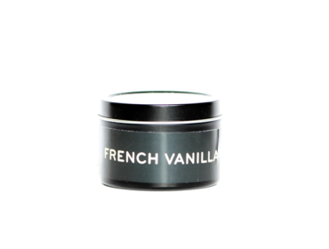 French Vanilla Coconut Wax Travel Size Candle